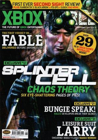 Xbox World Issue 016 (September 2004)