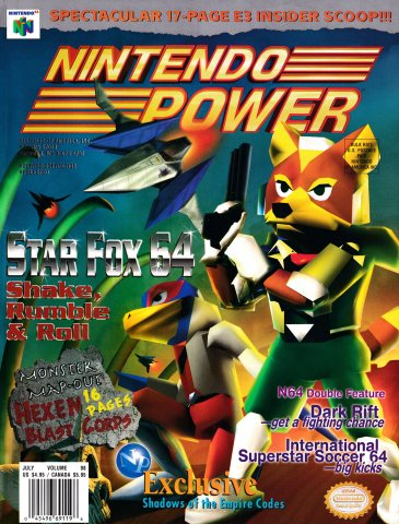 Nintendo Power Issue 098 (July 1997)