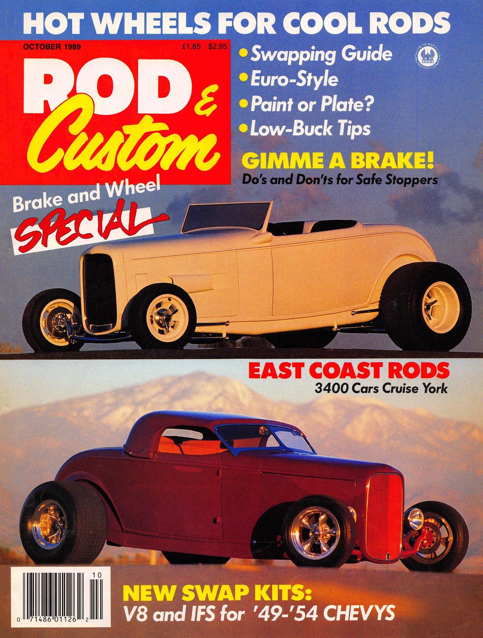Rod & Custom Volume 23, Number 5 (October 1989)
