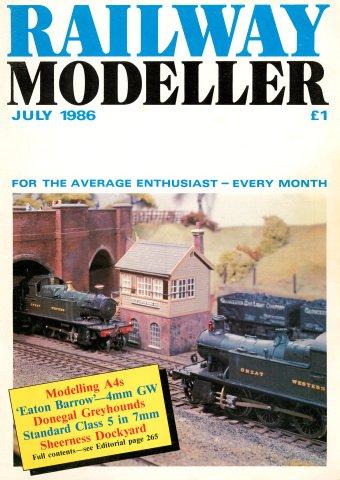 Railway Modeller Issue 429 (July 1986)