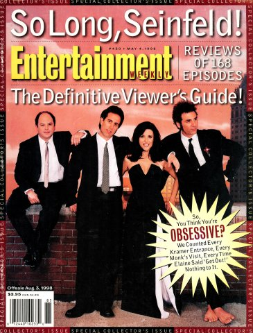 Entertainment Weekly Issue 430 (May 4, 1998)