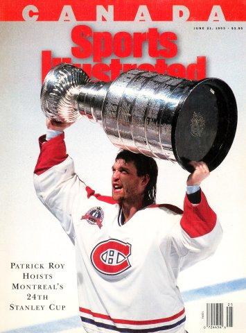 Sports Illustrated Canada (June 21, 1993)