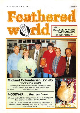 Feathered World Volume 15 Number 4 (April 1998)