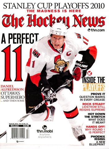 The Hockey News Vol. 63 No. 23 (April 26, 2010)