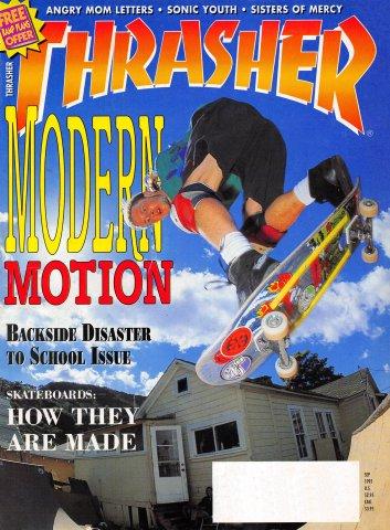 Thrasher Volume 11, Number 9 (September 1991)