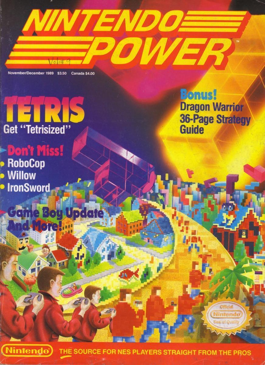 [Let's Read] - Nintendo Power #9