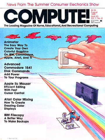 New Release - Compute! Issue 063 Vol. 7 No.8 (August 1985)