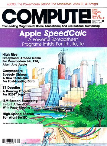 New Release - Compute! Issue 069 Vol. 8 No. 2 (February 1986)