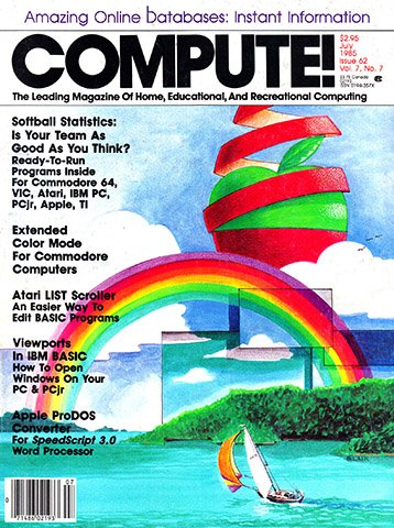 New Release - Compute! Issue 062 Vol. 7 No.7 (July 1985)