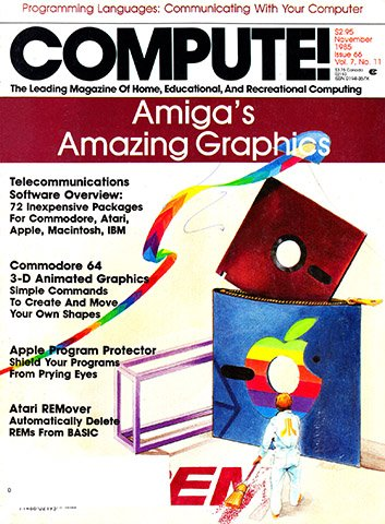 New Release - Compute! Issue 066 Vol. 7 No.11 (November 1985)