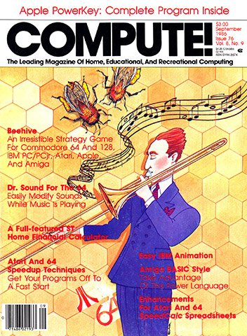 New Release - Compute! Issue 076 Vol. 8 No. 9 (September 1986)
