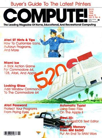 New Release - Compute! Issue 073 Vol. 8 No. 6 (June 1986)