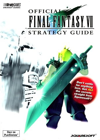 New Release - Official Final Fantasy VII Strategy Guide