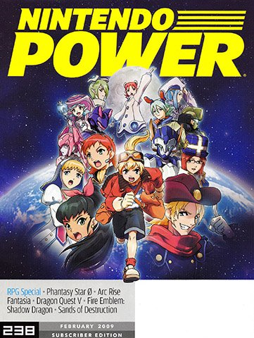 New Release - Nintendo Power Issue 238 (February 2009)