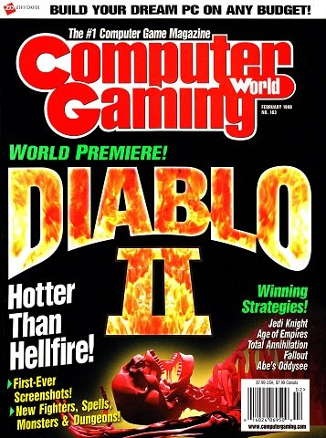 New Release - Computer Gaming World Issue 163 (February 1998)