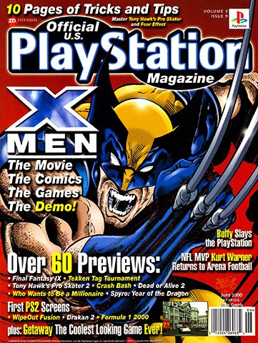 New Release - Official U.S. Playstation Magazine Issue 33 (June 2000)