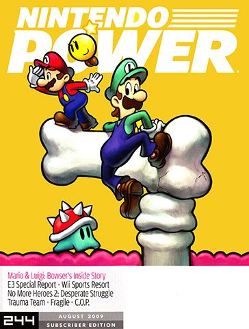 New Release - Nintendo Power Issue 244 (August 2009)