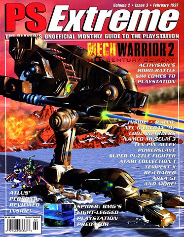 New Release - PSExtreme Issue 15 (February 1997)