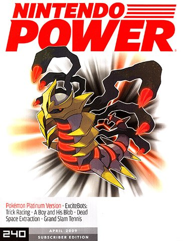 New Release - Nintendo Power Issue 240 (April 2009)