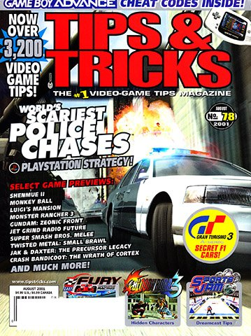 New Release - Tips & Tricks Issue 078 (August 2001)