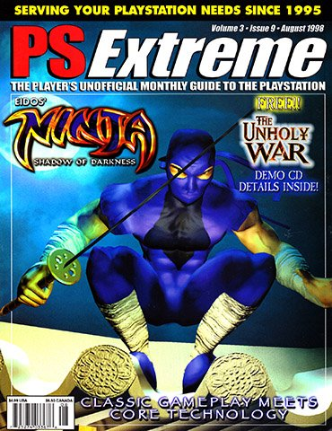 New Release - PSExtreme Issue 33 (August 1998)