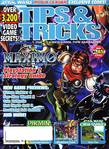 New Release - Tips & Tricks Issue 085 (March 2002)