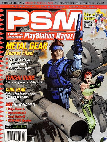 New Release - PSM Issue 15 (November 1998)
