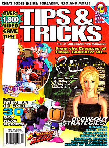 New Release - Tips & Tricks Issue 043 (September 1998)