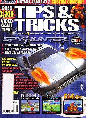New Release - Tips & Tricks Issue 081 (November 2001)