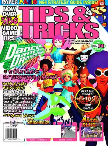 New Release - Tips & Tricks Issue 074 (April 2001)