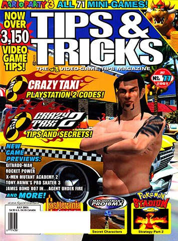New Release - Tips & Tricks Issue 077 (July 2001)
