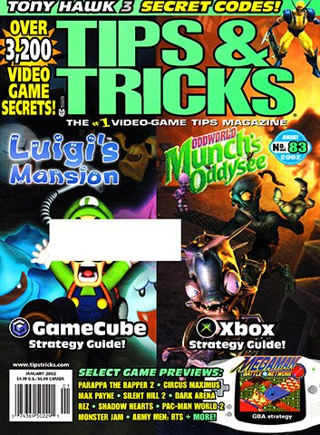 New Release - Tips & Tricks Issue 083 (January 2002)