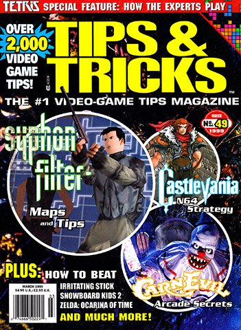 New Release - Tips & Tricks Issue 049 (March 1999)