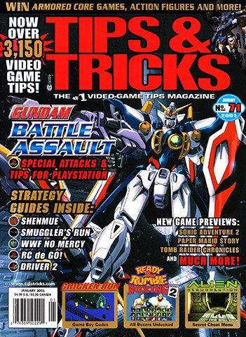 New Release - Tips & Tricks Issue 071 (January 2001)