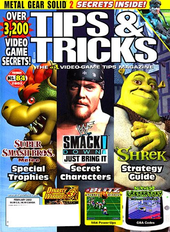 New Release - Tips & Tricks Issue 084 (February 2002)