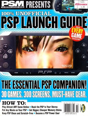 New Release - PSM Presents 100% Unofficial PSP Launch Guide