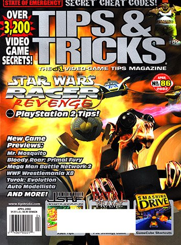 New Release - Tips & Tricks Issue 086 (April 2002)