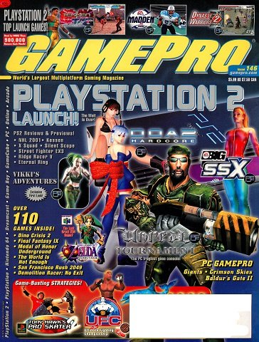 New Release - GamePro Issue 146 (November 2000)