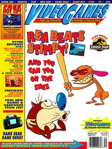 New Release - VideoGames The Ultimate Gaming Magazine Issue 56 (September 1993)