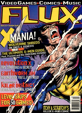 New Release - Flux Issue 3 (Janaury 1995)