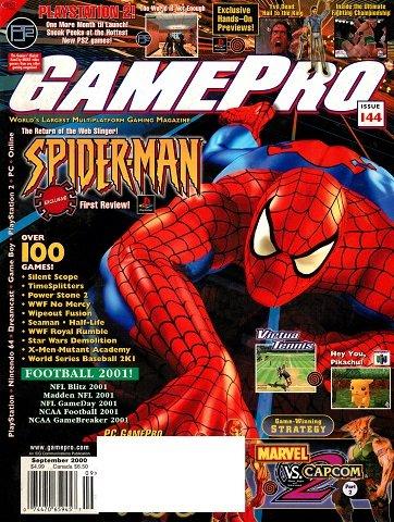 New Release - GamePro Issue 144 (September 2000)