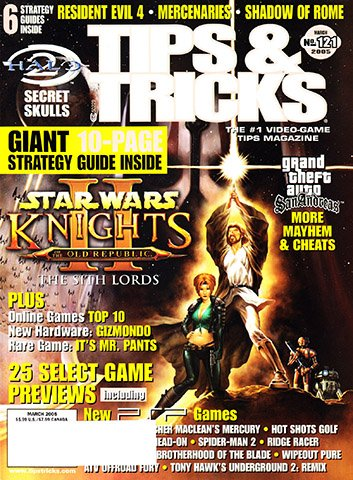 New Release - Tips & Tricks Issue 121 (March 2005)