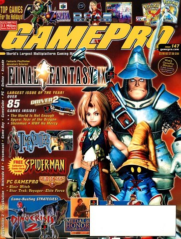 New Release - GamePro Issue 147 (December 2000)