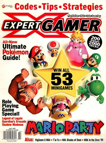 New Release - Expert Gamer Issue 58 (April 1999)