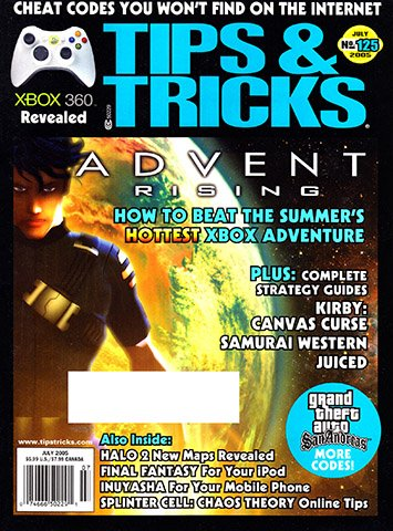 New Release - Tips & Tricks Issue 125 (July 2005)