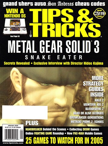 New Release - Tips & Tricks Issue 119 (January 2005)