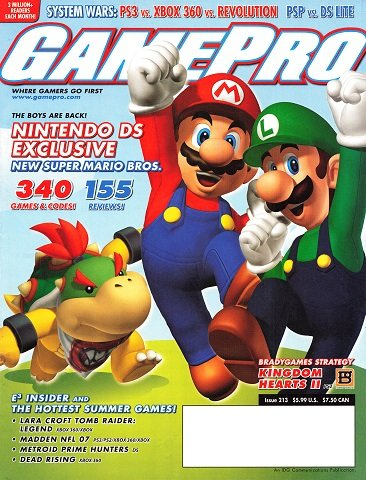 New Release - GamePro Issue 213 (June 2006)