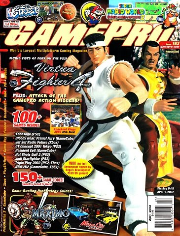 New Release - GamePro Issue 163 (April 2002)