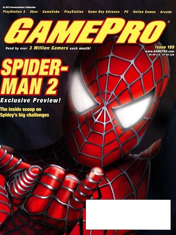 New Release - GamePro Issue 189 (June 2004)