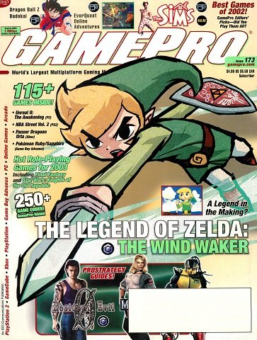 New Release - GamePro Issue 173 (February 2003)
